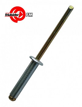Trhací ocelový nýt FM-Rivex St/St 4 x 14 Friulsider