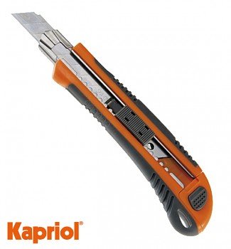 Ulamovací plastový nůž 25 mm MAXI Kapriol