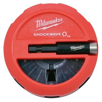 Sada 15 ks bitů Milwaukee  Shockwave