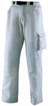 Kalhoty pracovní Tenere bílé S Kapriol