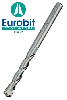 Vrták Eurobit ACTIVA do betonu 6 x 100 / 55 válcová stopka
