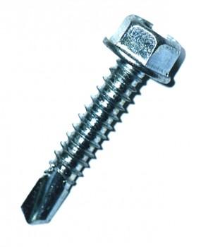 Šroub samovývrtný TEX šestihranná hlava 4,8 x 50 DIN 7504 K