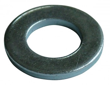 Podložka střední 6 mm DIN 125A zinek bílý
