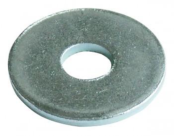 Podložka pod nýt 5 mm DIN 9021 zinek bílý