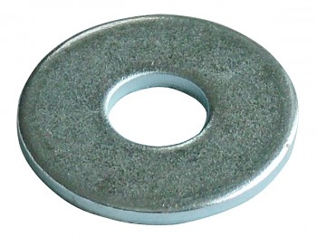 Podložka pro dřevo 8 mm DIN 440 zinek bílý