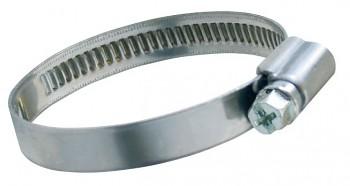 Hadicová spona Clampex W2 70 - 90 mm pásek+pouzdro nerez