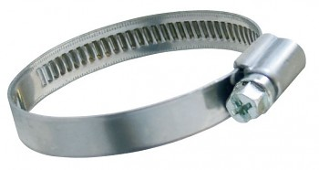 Hadicová spona Clampex W2 100 - 120 mm pásek+pouzdro nerez