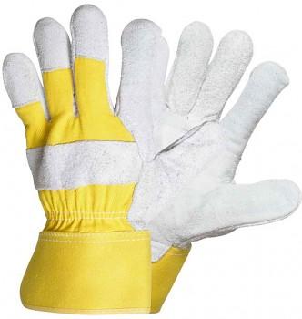 Pracovní kombinované rukavice EIDER YELLOW 10