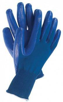 Pracovní povrstvené rukavice TOUCH BLUE 10 Kapriol