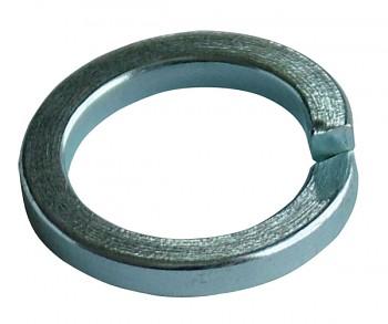 Podložka pérová čtvercová 16 mm DIN 7980 zinek bílý