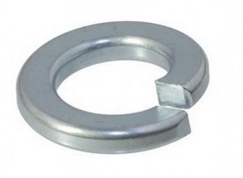 Podložka pérová obdélníková 16 mm DIN 127B zinek bílý