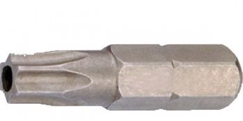 Utahovací bit TORX 10 x 25 mm s otvorem