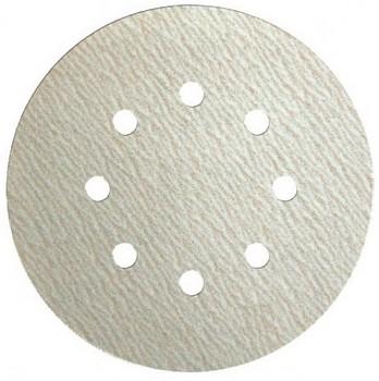 Brusný papír suchý zip PS 33 BK 125 s otvory zrno 80 Klingspor