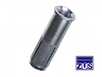 Kotva zarážecí ocelová ZK 8 x 25 M6