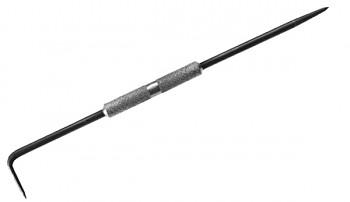Rýsovadlo ocelové zahnuté 25 cm Kapriol