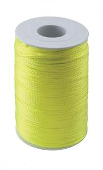 Provaz stavební nylonový 2 mm / 100 m žluto-zelený Kapriol