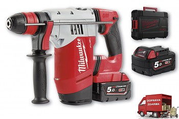 Aku SDS-PLUS vrtací kladivo Milwaukee M18 CHPX-502X  FUEL