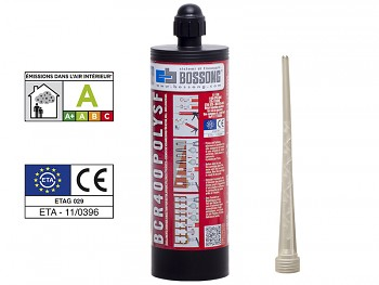 Chemická kotva PROFI polyester POLY SF 400 BOSSONG bez styrenu