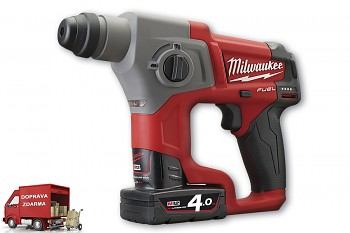 Aku kladivo SDS-Plus Milwaukee M12 CH-402 C FUEL