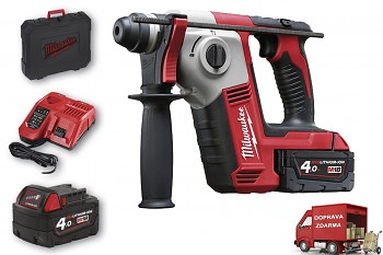 Aku kompaktní SDS-PLUS kladivo Milwaukee M18 BH-402 C