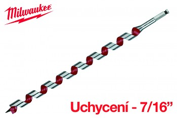 Vrták hadovitý do dřeva Milwaukee 20 x 470 LEWIS