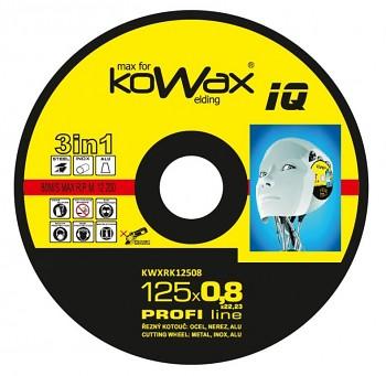 Řezný kotouč Kowax 3v1 125 x 0,8 x 22mm