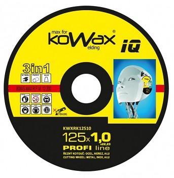 Řezný kotouč Kowax 3v1 125 x 1,0 x 22mm