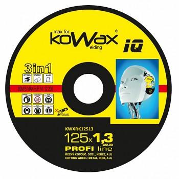 Řezný kotouč Kowax 3v1 125 x 1,3 x 22mm