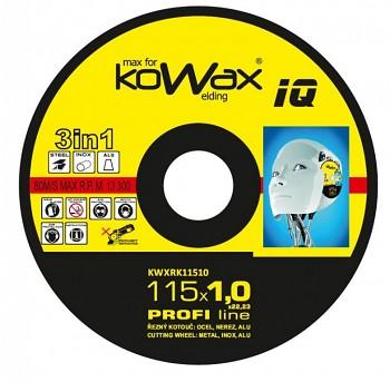 Řezný kotouč Kowax 3v1 115 x 1,0 x 22mm
