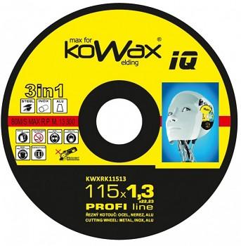 Řezný kotouč Kowax 3v1 115 x 1,3 x 22mm