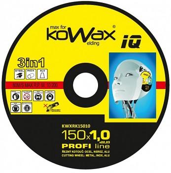 Řezný kotouč Kowax 3v1 150 x 1,0 x 22mm