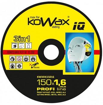 Řezný kotouč Kowax 3v1 150 x 1,6 x 22mm