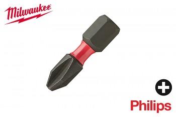 Bit Philips PH1 x 25 Shockwave Milwaukee