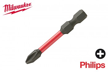 Bit Philips PH2 x 50 Shockwave Milwaukee