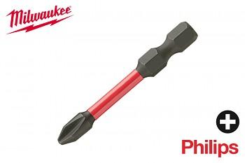 Bit Philips PH2 x 50 Shockwave Milwaukee