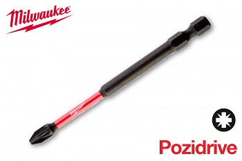 Bit Pozidrive PZ2 x 90 Shockwave Milwaukee