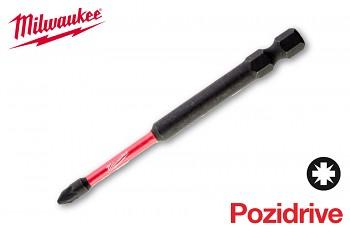 Bit Pozidrive PZ1 x 90 Shockwave Milwaukee