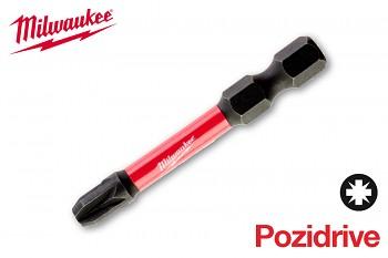 Bit Pozidrive PZ3 x 50 Shockwave Milwaukee