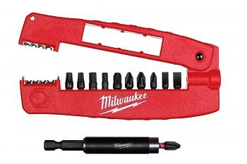 Kapesní sada bitů 12ks Shockwave Milwaukee