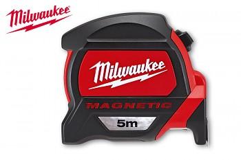 Profesionální svinovací 5m/27mm Milwaukee s magnetem