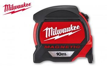 Svinovací metr Premium 10m/27mm Milwaukee s magnetem
