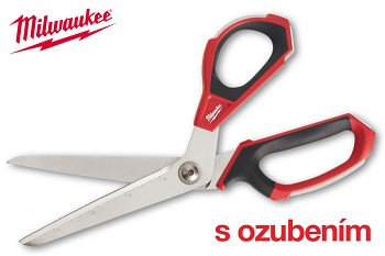 Technické nůžky Milwaukee vyhnuté