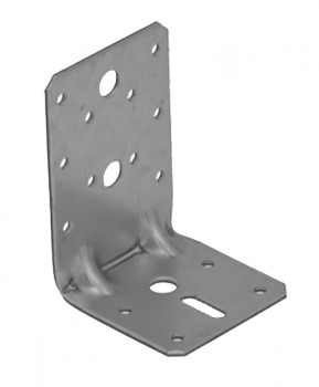 Úhelník stavitelný s prolisem KPK 23  95 x 65 x 65 / 2,5