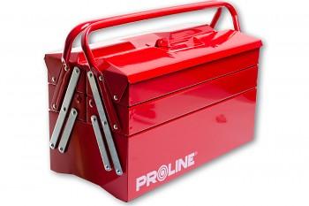Kovový kufr na nářadí 40x20x29 cm se dvěma držadly