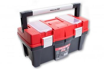 "Plastový box s AL rukojetí 46x26x25 cm 18"""