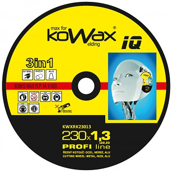 Řezný kotouč Kowax 3v1 230 x 1,3 x 22mm