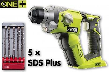 Ryobi R18SDS-0 elektropneumatická vrtačka SDS Plus ONE+