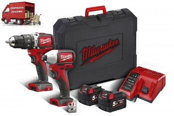 POWERPACK Milwaukee M18 BLPP2A2-502X
