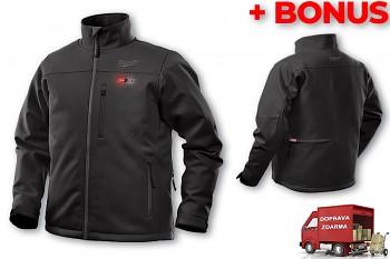 Aku vyhřívaná bunda Milwaukee Premium M12 HJ BL4-0 (S) černá