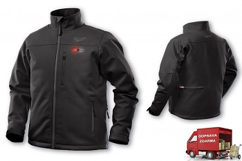 Aku vyhřívaná bunda Milwaukee Premium M12 HJ BL4-0 (XXL) černá